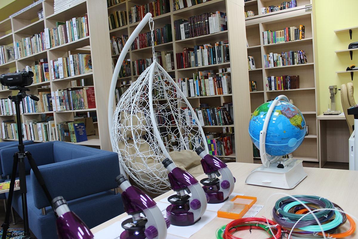 На Куршской косе открылась новая модельная библиотека